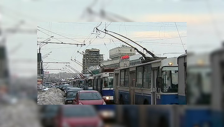 В Москве еще не восстановили движение пяти троллейбусных маршрутов
