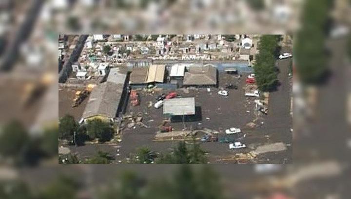 Около ста чилийцев оказались под обломками рухнувшего дома