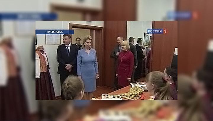 Светлана Медведева поздравила учащихся Пансиона Минобороны с 8 Марта