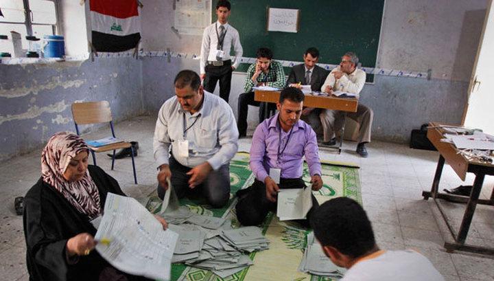 Выборы в Ираке прошли под аккомпанемент взрывов