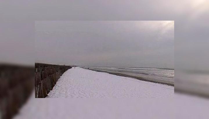 Барселона оказалась во власти снежной стихии