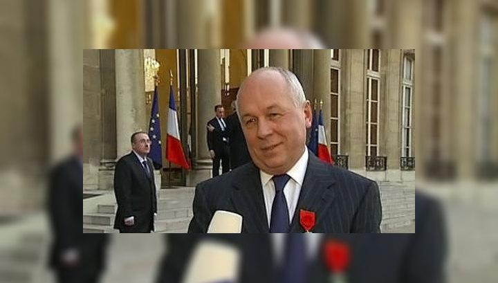 Сергею Чемезову вручена высшая награда Франции
