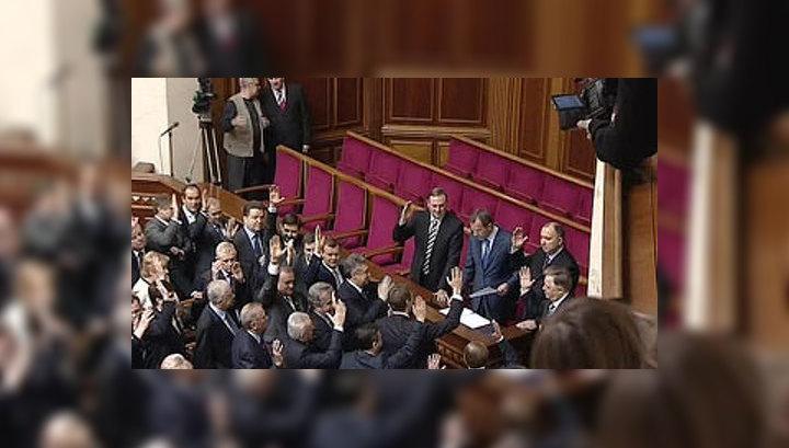 Янукович готов распустить Верховную Раду
