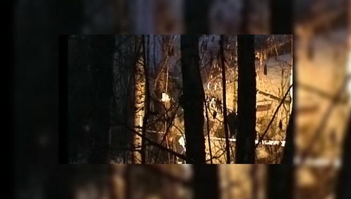 У совершившего аварийную посадку Ту-204 оторвало крылья