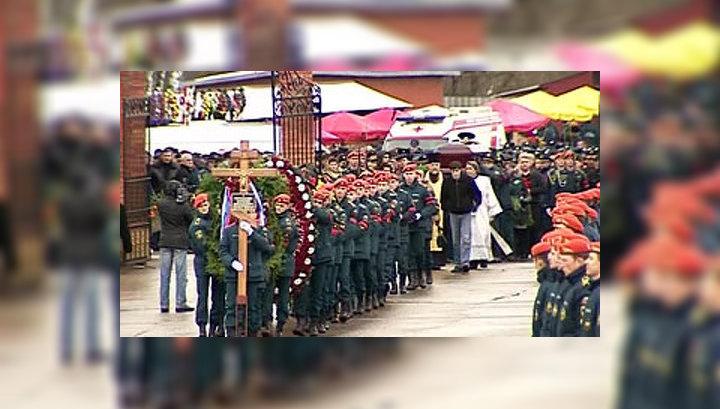 Евгения Чернышева похоронили с воинскими почестями