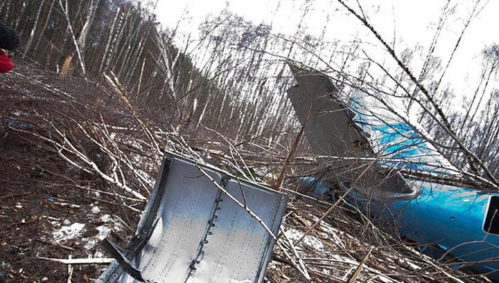 Падение Ту-204: новые фото и новые данные следствия
