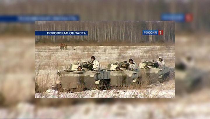 Уникальная операция под Псковом: десант боевых машин с экипажем внутри