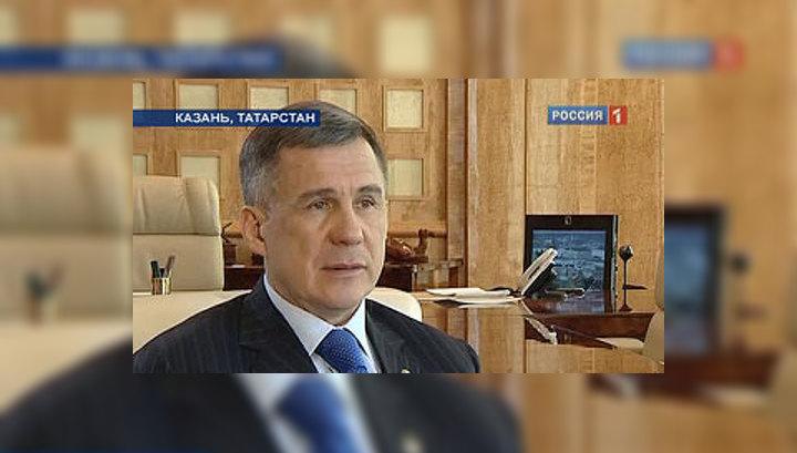 Минниханов: теперь надо рулить Татарстаном
