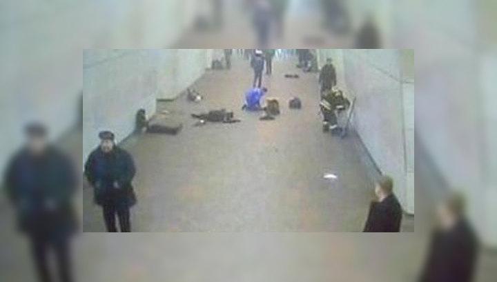 Взрывы в метро зафиксировали видеокамеры