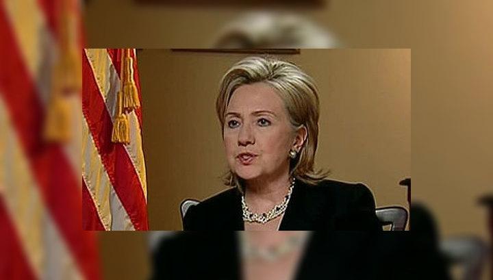 Клинтон выразила соболезнования в связи с терактами в Москве