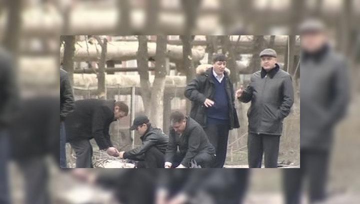 """ФСБ: смертник на """"Ниве"""" пытался атаковать ОВД Кизляра"""