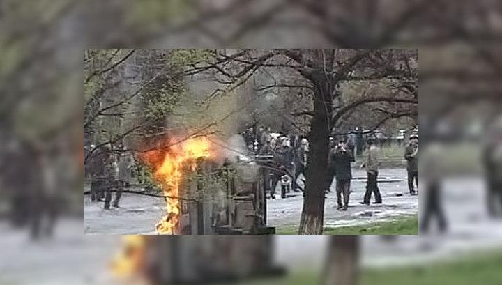 Оппозиция в Киргизии добралась до прямого эфира