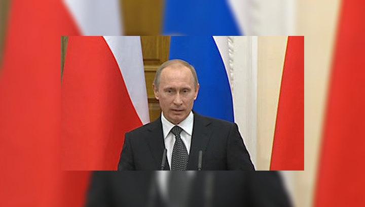 Путин: Бакиев наступает на те же самые грабли