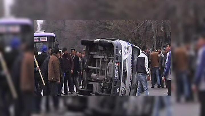 Обстановка в Бишкеке остается напряженной