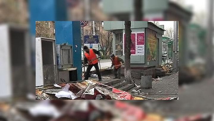В Киргизии второй день траура по погибшим во время беспорядков