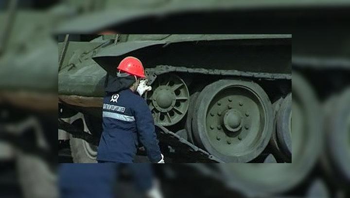 """В Салавате установили новый монумент – танк """"Т-34"""""""