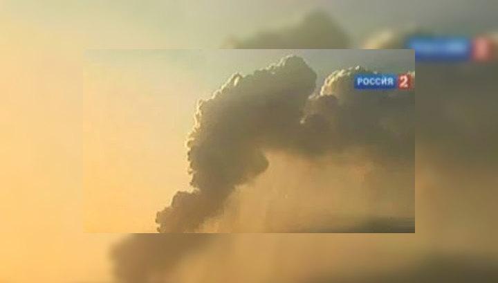 Исландский вулкан начал извергаться с ещё большей силой