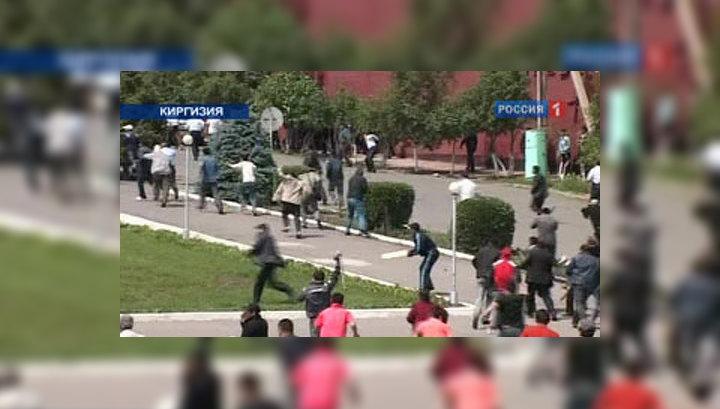 В Киргизии снова бои за власть