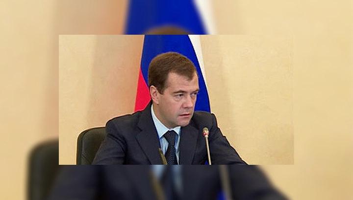 Медведев не видит необходимости в отправке российских войск в Киргизию