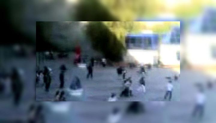 Теракт в Ставрополе. Первые кадры, сделанные после взрыва