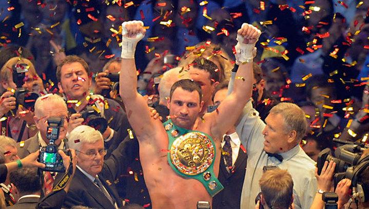 Виталий Кличко защитил титул чемпиона мира
