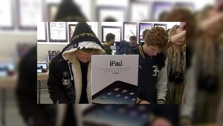 Apple продала 2 миллиона iPad