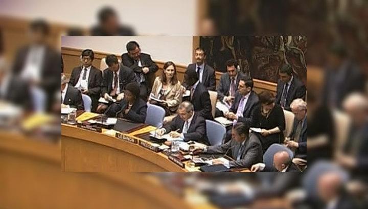 В Совбезе ООН распространен новый вариант проекта резолюции по Сирии