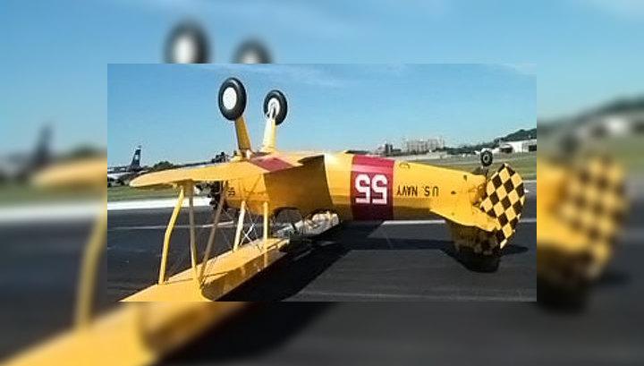 Американский пилот снял на видео крушение собственного самолета