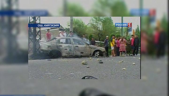 В Оше убит офицер-пограничник