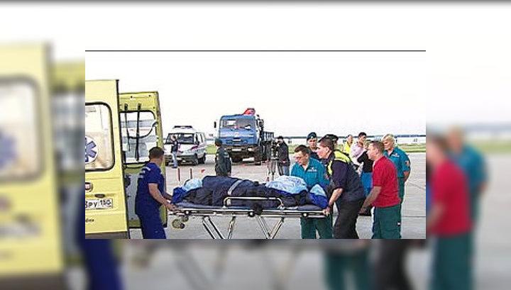 В Красноярском крае разбился пассажирский самолет