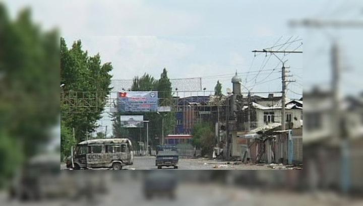 На въездах в столицу Киргизии появились блокпосты