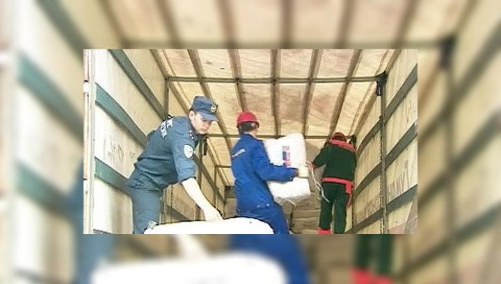 Киргизия принимает гуманитарную помощь
