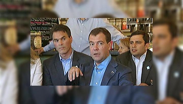 Медведев предложил создать в Сколкове индивидуальные условия труда
