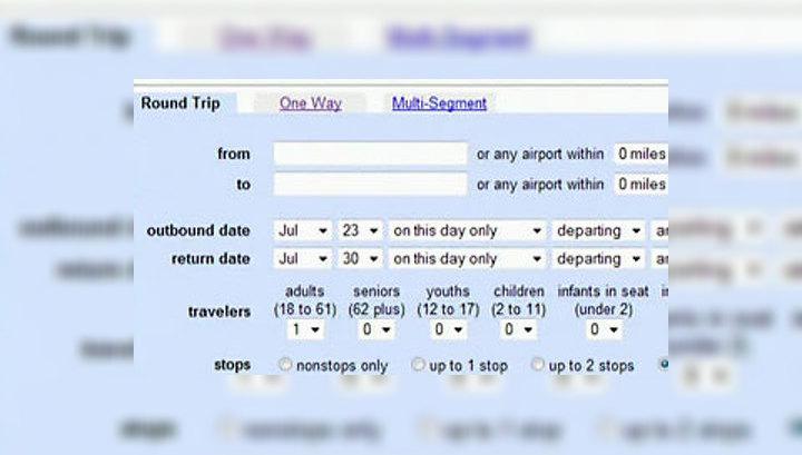 Вести.net: выбрать авиарейс через Google и бесплатно зайти с мобильного в Facebook