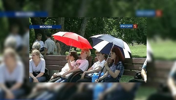 Погодный шок: жара в Москве усилится