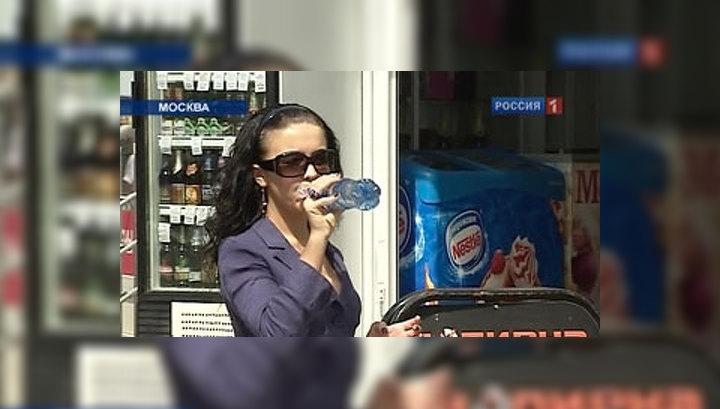 Пик жары в Москве придется на четверг