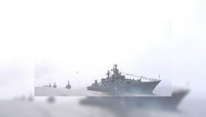 На Тихоокеанском побережье в День ВМФ пройдут парады боевых кораблей
