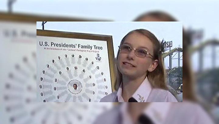 Школьница переписала историю президентов США