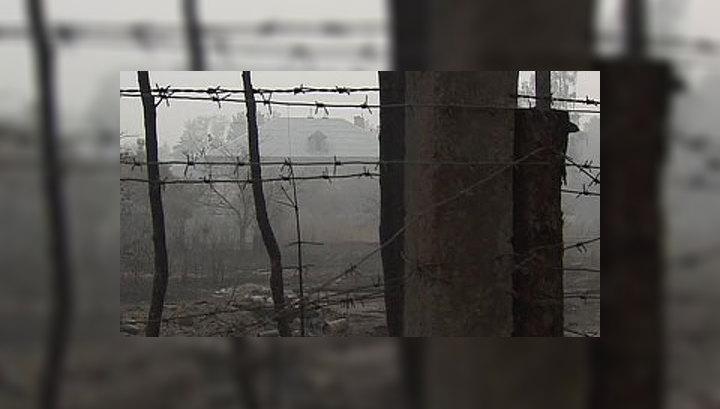 Военная база выгорела дотла