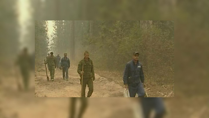В Мордовии при тушении лесного пожара погиб доброволец