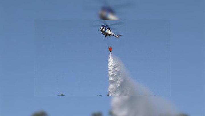 В Испании и Португалии лесные пожары захватывают все новые площади
