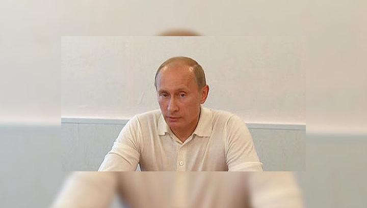 """Путин проинспектировал строительство космодрома """"Восточный"""""""