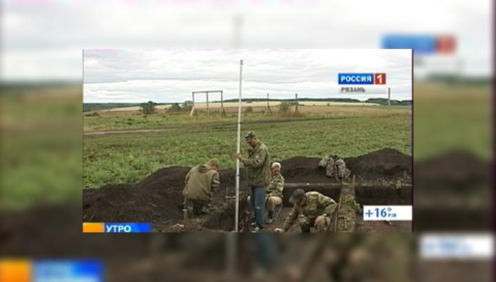 Рязанские археологи почти раскопали битву на Воже