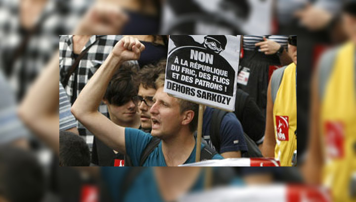 Французы обвиняют Саркози в национализме