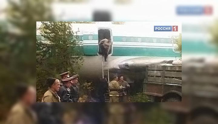 Пилоты аварийного Ту-154 чудом посадили самолет по стакану воды