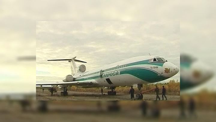 Ту-154М вылетел из Ижмы
