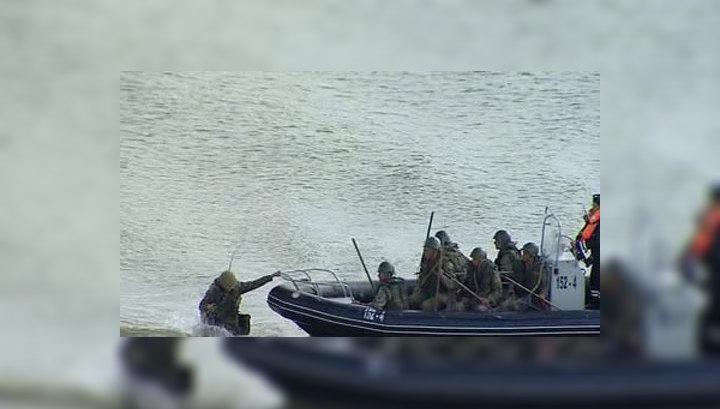 Черноморский флот показал всю свою мощь