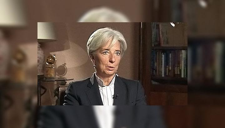 Кристин Лагард вступает в должность главы МВФ