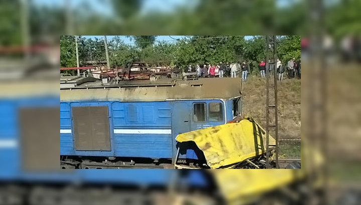 Трагедия на Украине: рейсовый автобус превратился в груду металла