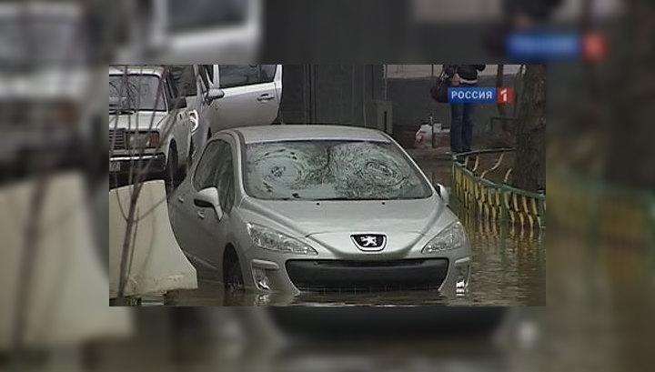 Московский квартал ушёл под воду за считаные минуты